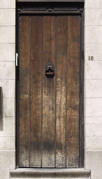 Wooden Single Door Design