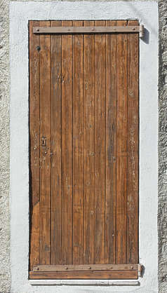 door wood single
