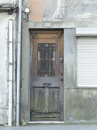 portugal door wooden old damaged