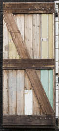 door old wood single barn