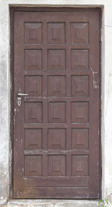 door single wooden ornate