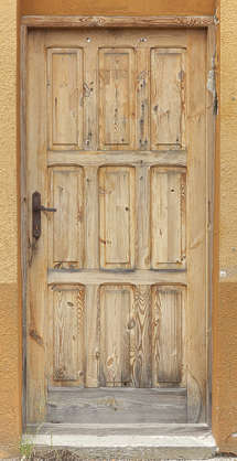 door single wood wooden