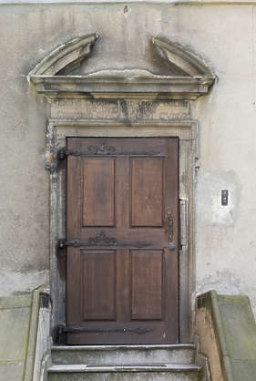 door single wooden