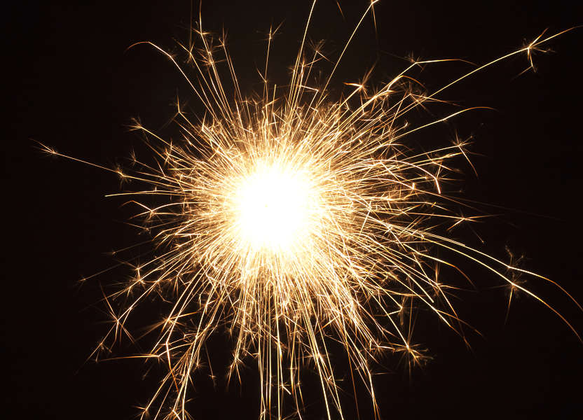 Fireworks0024 - Free Background Texture - spark sparks ...