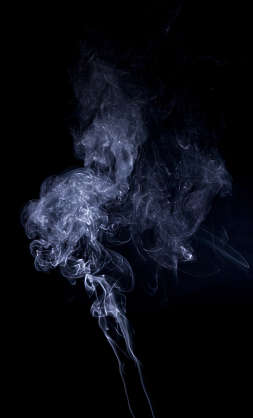 smoke plume incense