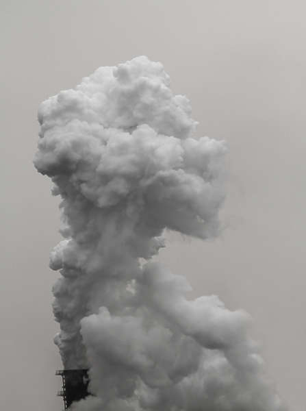 White Smoke From Exhaust >> Smoke0400 - Free Background Texture - smoke plume chimney exhaust pipe factory white light gray ...