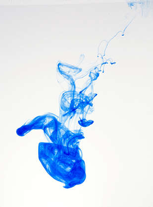 ink fluid single drop