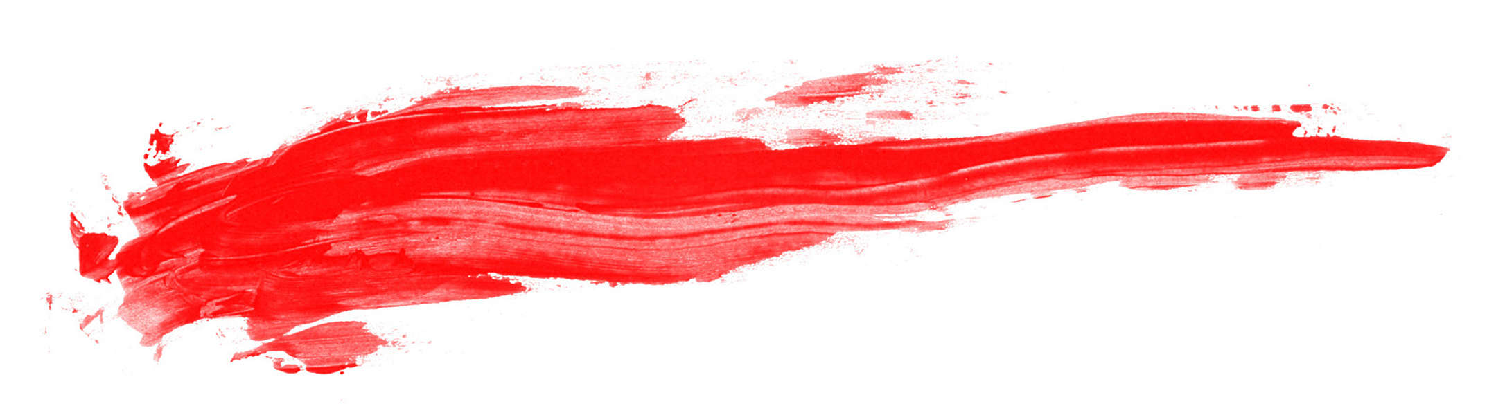 Red Paint Smudge