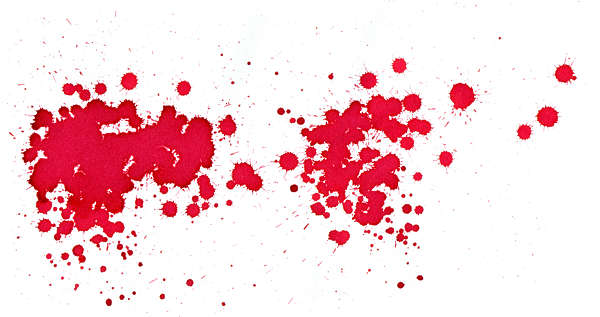 splatter paint ink blood small droplets