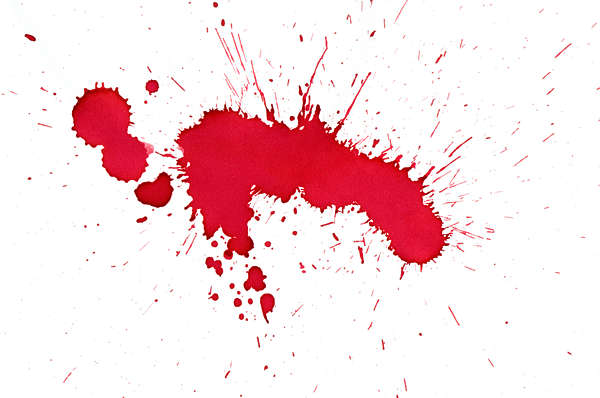 splatter paint ink blood small