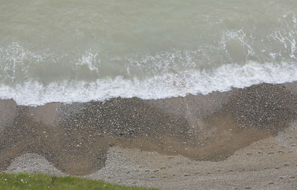 UK coast water foam sequence shore wave waves