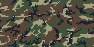 camouflage pattern woodland green