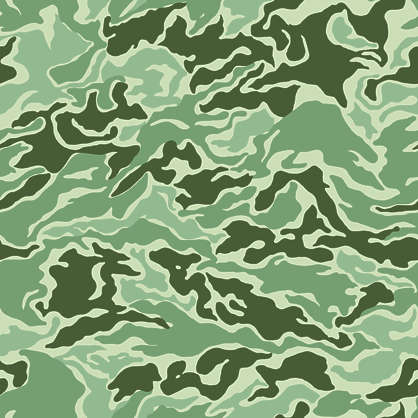 camouflage pattern korean
