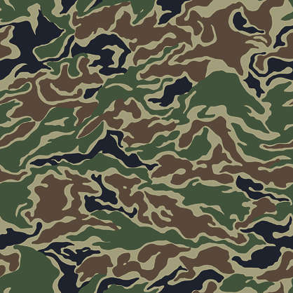 camouflage pattern korean woodland