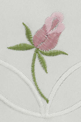 embroidery embroidering fancywork flower