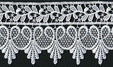 lace fabric trim edge