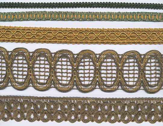 fabric lace trim