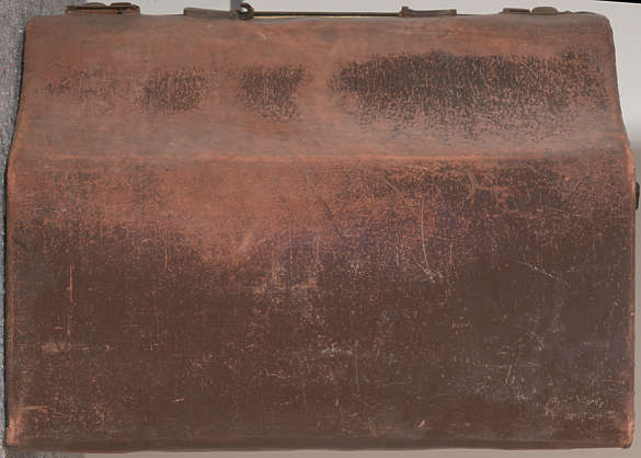 leather worn suitcase case old grunge grungemap prop reference closeup closeups paper fake faux
