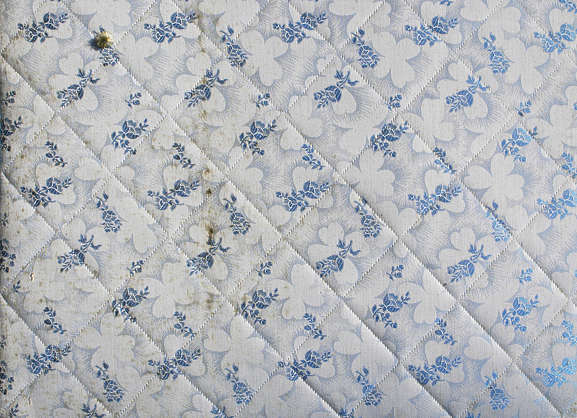 fabric mattress old dirty bed