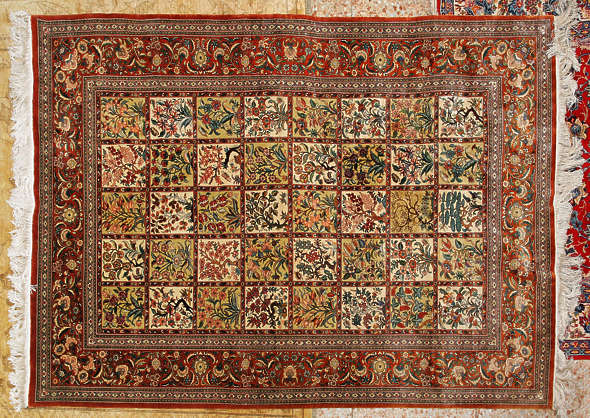 carpet persian perzian silk rug