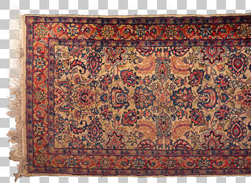 fabric carpet rug persian perzian frill frilly