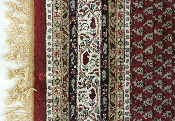 carpet fabric floor rug persian frills frilly