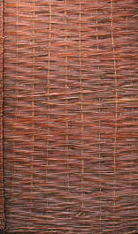 thatched rattan wicker