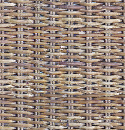 thatched rattan woven weave wicker