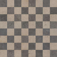 Perfect Checkerboard Floor Tiles