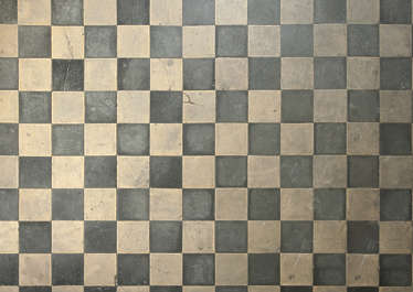floor regular tiles old checker