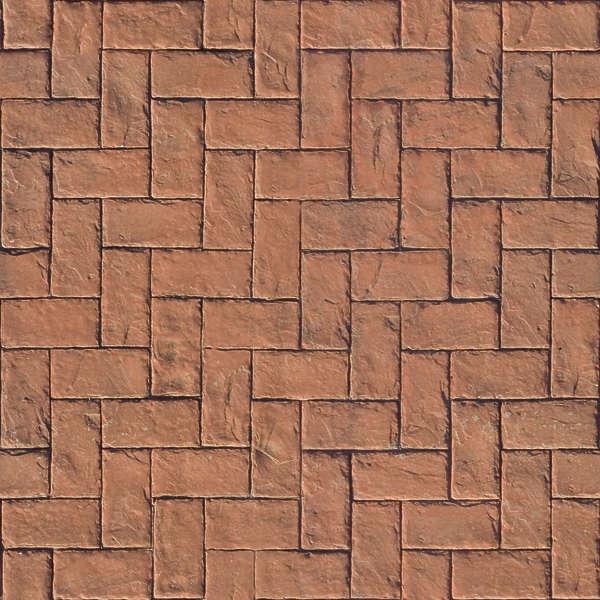 Floorherringbone Free Background Texture Brick Floor Herringbone Red Seamless