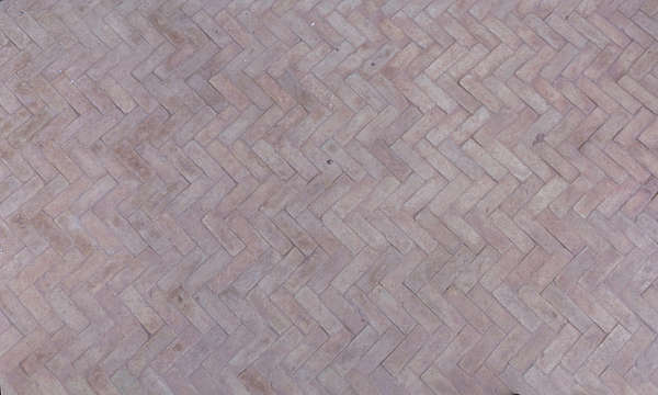 floor morocco street sidewalk small bricks herringbone