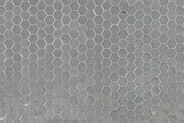 aerial street streets tiles hexagonal regular