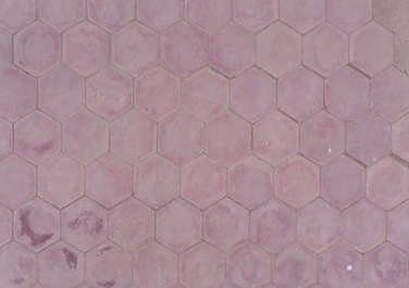 tiles floor morocco street sidewalk hexagonal hexagon