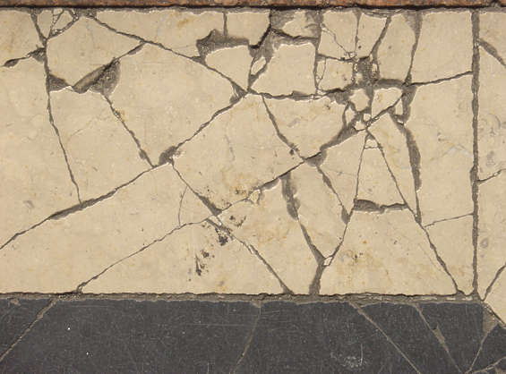 marble cracks beige