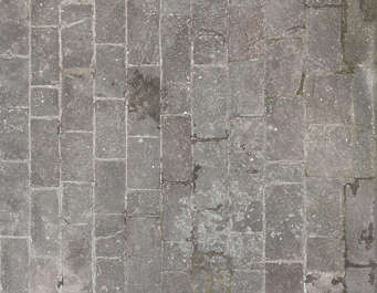 brick medieval old floor pavement