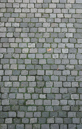 brick floor tiles road