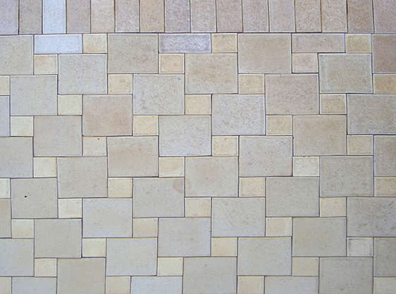 tiles floor mixed