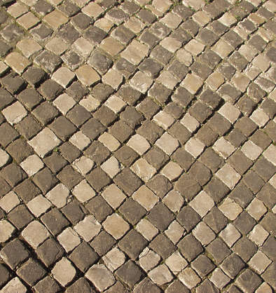 brick floor portuguese tiles mixed