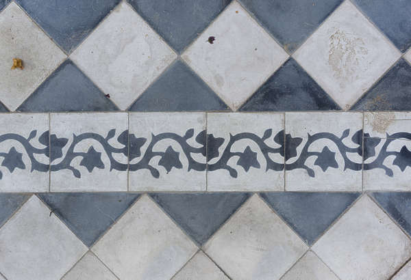 tiles floor morocco ornament ornate trim