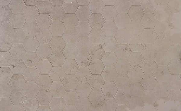 tiles floor morocco hexagonal