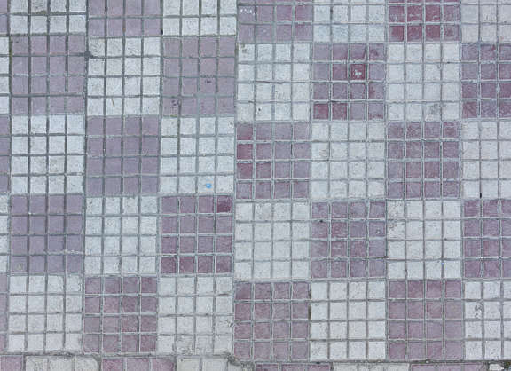 tiles floor morocco sidewalk checker