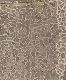 venice italy flagstone floor street mixed old