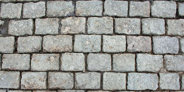brick cobble cobblestones floor street