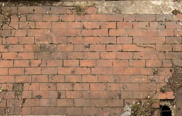 brick floor tiles regular old