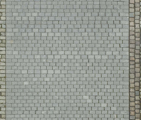 floor cobblestone cobble brick regular street