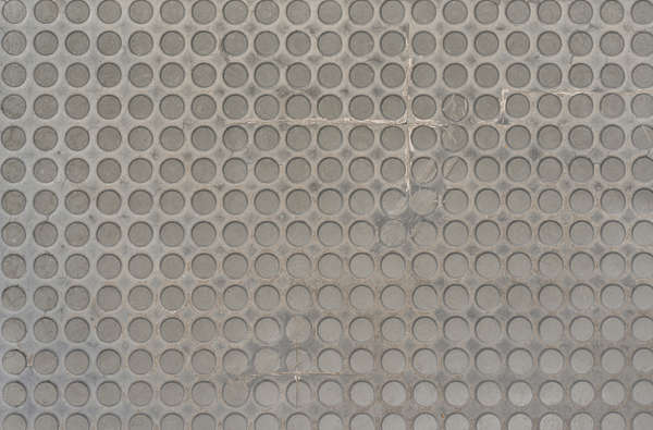 metal plastic rubber floor mat tactile paving