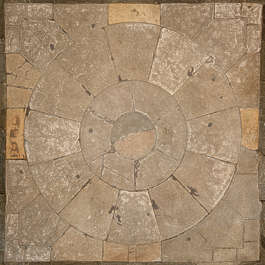 tiles ornament ornate floor medieval circle round