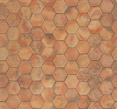 floor tiles ornate hexogonal hexagon