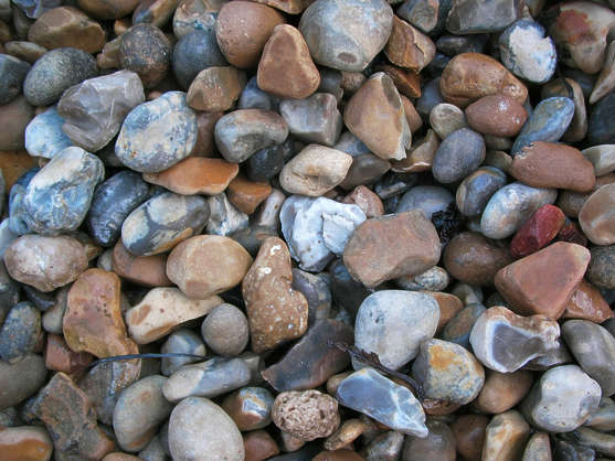 pebbles stones floor ground cobble
